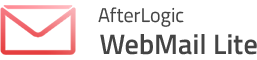 Interface Webmail AfterLogic